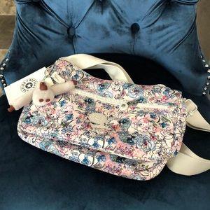NEW Kipling Floral Print Bag